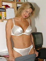 Amateur secretary at work